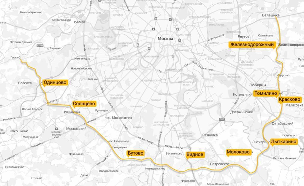 план дороги